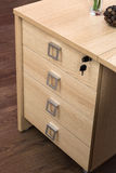 Desk cupboard with drawers Stock Photos