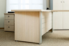 Desk with drawers Stock Photos