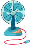 Desk fan Royalty Free Stock Photography