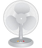 Desk fan Royalty Free Stock Photo