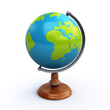 Desk globe Royalty Free Stock Images