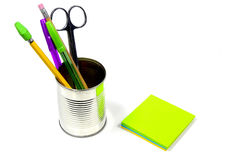 Desk Items Royalty Free Stock Photos