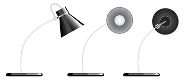 Desk lamp Stock Image