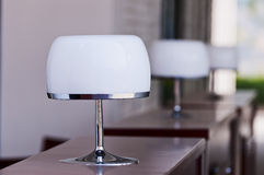 Desk lamp Stock Images