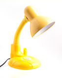 Desk lamp. On a white background Royalty Free Stock Images
