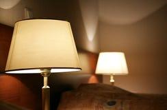 Desk lamp Royalty Free Stock Photos