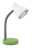 Desk lamp. Green desk lamp on white background Royalty Free Stock Photography