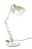 Desk lamp modern. On white background Royalty Free Stock Image
