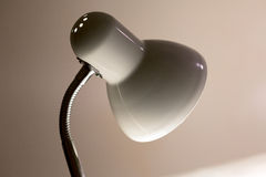 Desk lamp on table Royalty Free Stock Photography