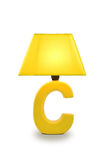 Desk lamp table light Royalty Free Stock Photo