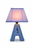 Desk lamp table light Royalty Free Stock Photos