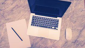 Desk Royalty Free Stock Images