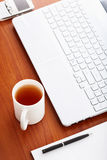 Desk in office Royalty Free Stock Images