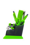 Desk organizer Stock Photo