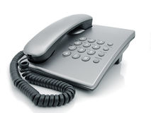 Desk telephone Royalty Free Stock Photography