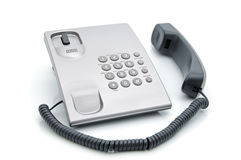 Desk telephone Stock Images