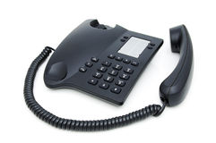 Desk telephone royalty free stock photo