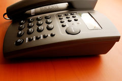Desk telephone Royalty Free Stock Images