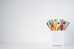 Desk tidy Royalty Free Stock Photos