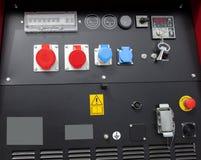 Deska rozdzielcza i kontrola dla budowy maszyny Zdjęcie Royalty Free
