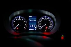 Deska rozdzielcza nowożytny samochód Zdjęcia Stock
