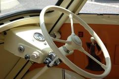deska rozdzielcza rocznego samochodowy fotografia stock