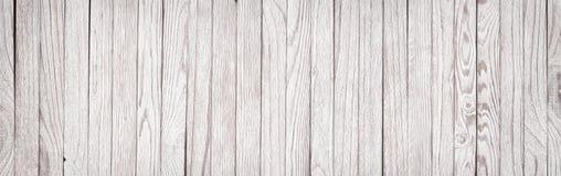 Deska stół malował biel, pustego tła drewniana osłona drewno Zdjęcie Stock