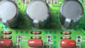 Deska z układami scalonymi zdjęcie wideo