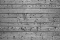 Deski popielata drewniana ściana Fotografia Stock