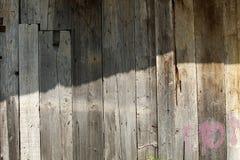 Deski stara drewniana ściana zdjęcia stock