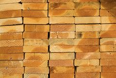 deski sterty drewna Fotografia Royalty Free