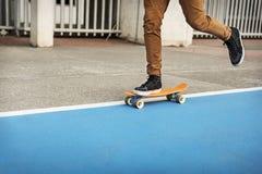 Deskorolka sporta łyżwiarki Krańcowego parka Rekreacyjna aktywność Conce fotografia stock