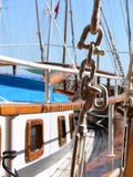 deskowa łódź. Obrazy Royalty Free