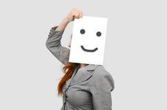 deskowa biznesowa biała kobieta Zdjęcia Stock
