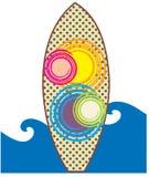 deskowa brzegowa gardy surf Zdjęcie Stock