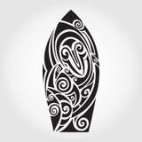 deskowa brzegowa gardy surf Rekinu wzór Obrazy Royalty Free