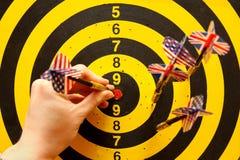 deskowe strzałki Zdjęcie Stock