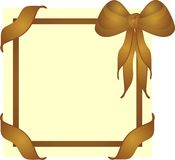 deskowego brązu groszaka elegancki złoto Fotografia Royalty Free
