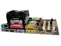 deskowego głównego komputera Fotografia Stock