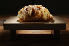 deskowy chlebowy rozcięcie Obrazy Royalty Free