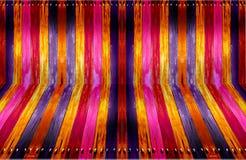 deskowy kolorowy stary perspektywiczny drewniany Zdjęcia Stock