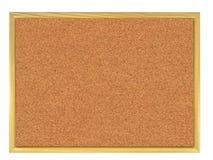 deskowy korkowy corkboard Obrazy Royalty Free