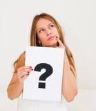 deskowy oceny pytania znak Zdjęcie Royalty Free