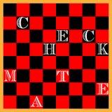 deskowy szachy Fotografia Royalty Free