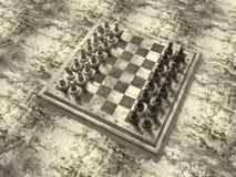 deskowy szachy Obraz Royalty Free