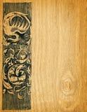 deskowy tła drewno royalty ilustracja