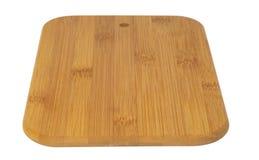 deskowy tnący drewniany Fotografia Stock