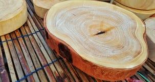 deskowy tnący drewniany Zdjęcie Royalty Free