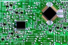 deskowy układ scalony obwodu zakończenia komputer deskowy Obrazy Royalty Free