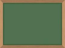 deskowy zielony ilustraci szkoły wektor Czyści blackboard również zwrócić corel ilustracji wektora Acces Zdjęcia Stock
